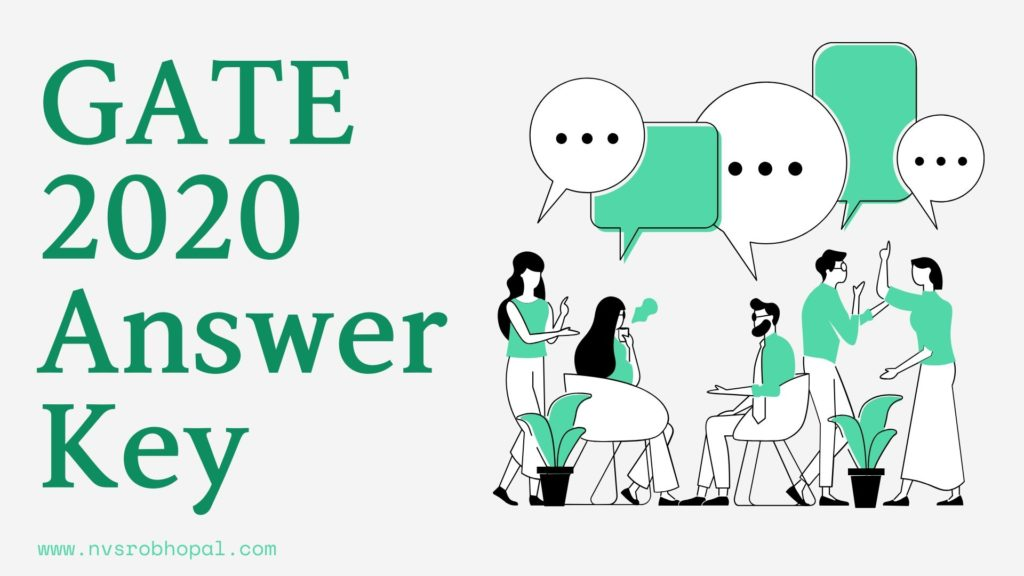GATE 2020 Answer Key