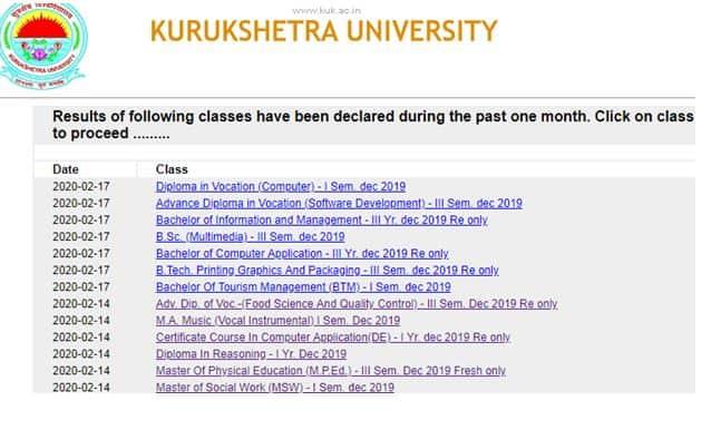 Kurukshetra_University_Result_List