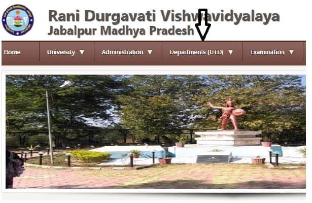 Rani_Durgavati_Vishwavidyalaya_Result_2020