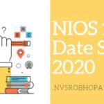 NIOS-Timetable-2020