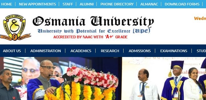 Osmania University Result