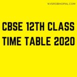 CBSE-12th-Class-Time-Table-2020