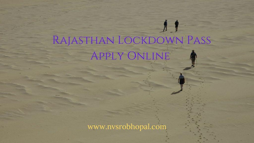 Rajasthan-Lockdown-Pass-Apply-Online