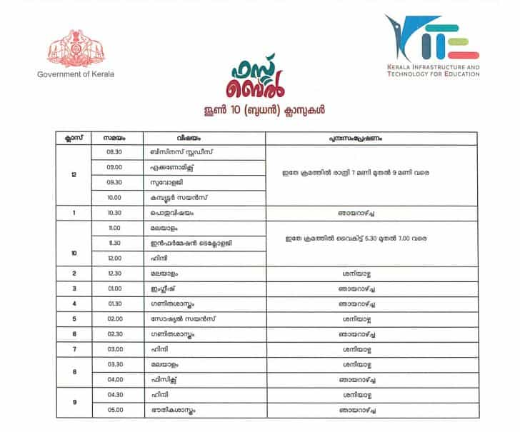 kITE_Victers_Time_Table
