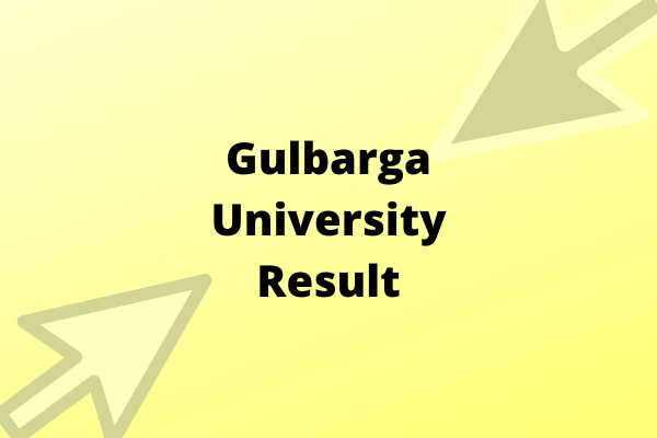 Gulbarga University Result