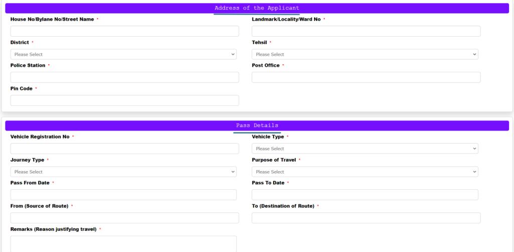 TN ePass Address  details