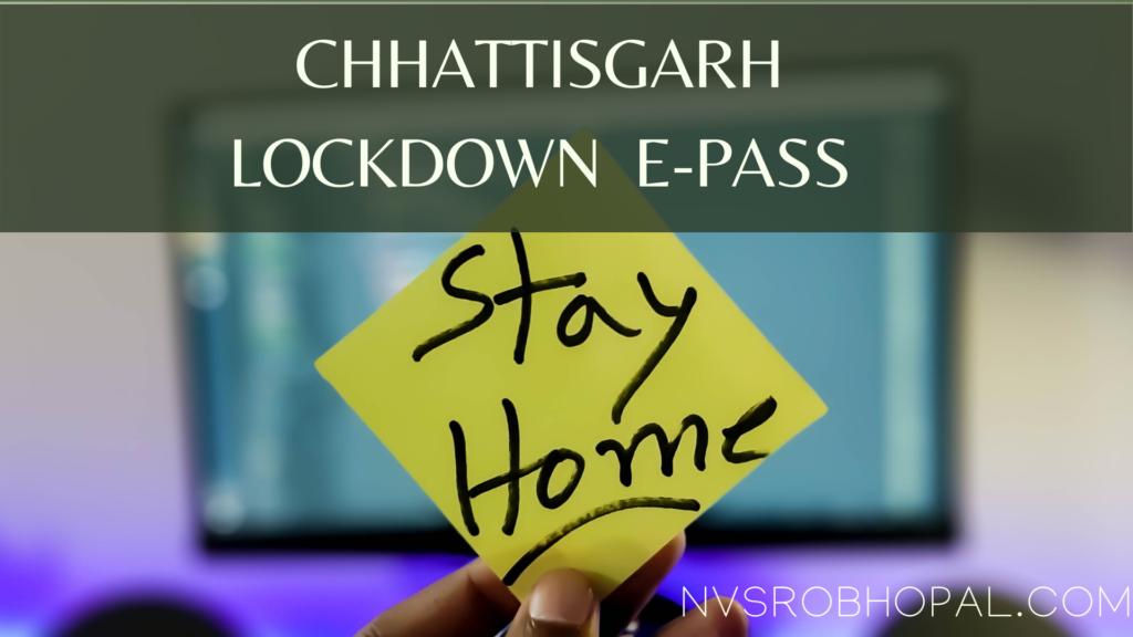 Chhattisgarh Epass