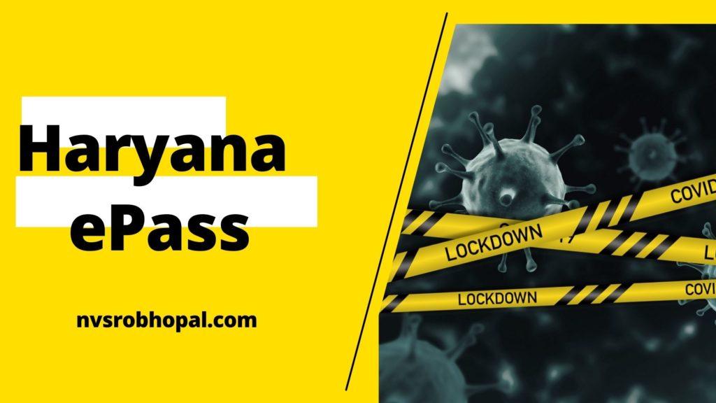 Haryana  ePass