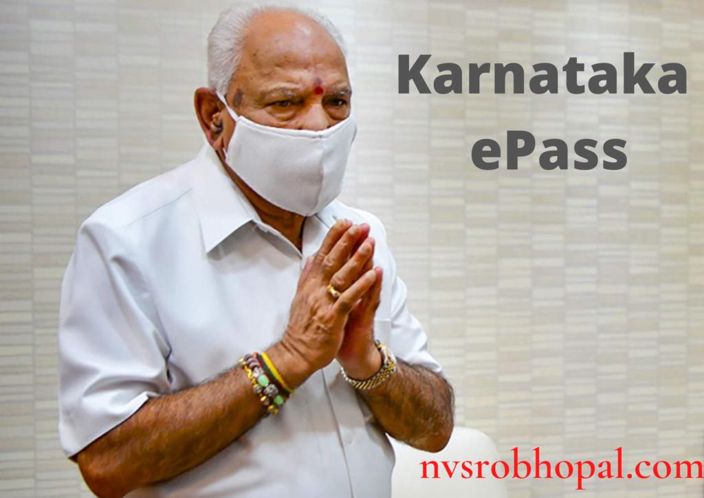 Karnataka ePass cover