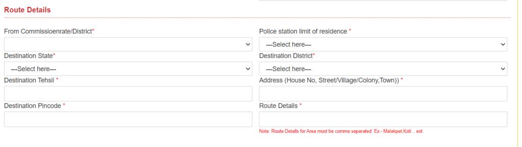 Route Details