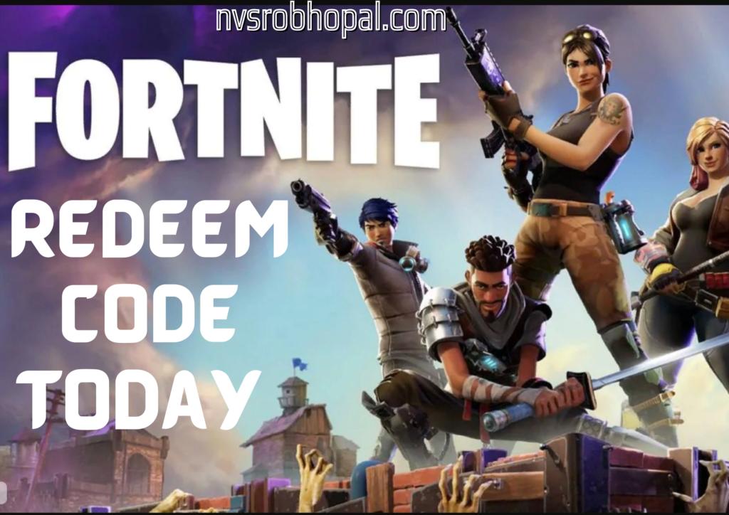 Fortnite Redeem Code Today