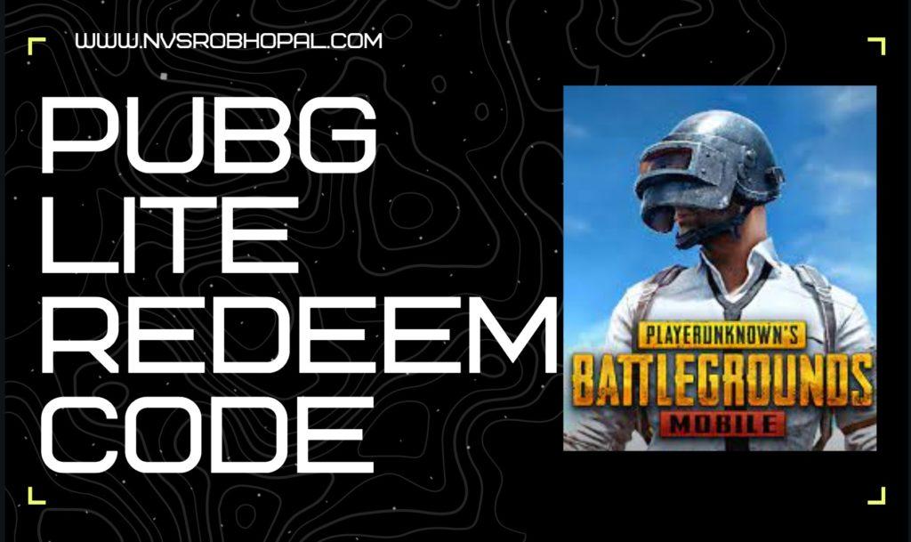 pubg-lite-redeem-code