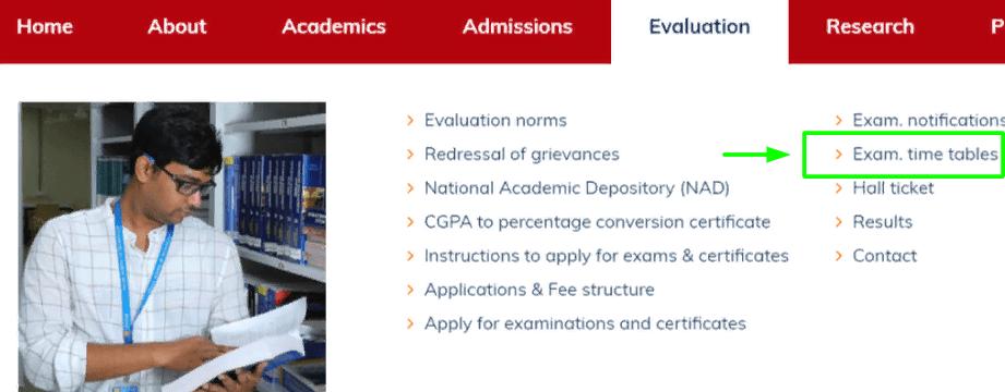 Gitam University Exam Date Sheet 2021