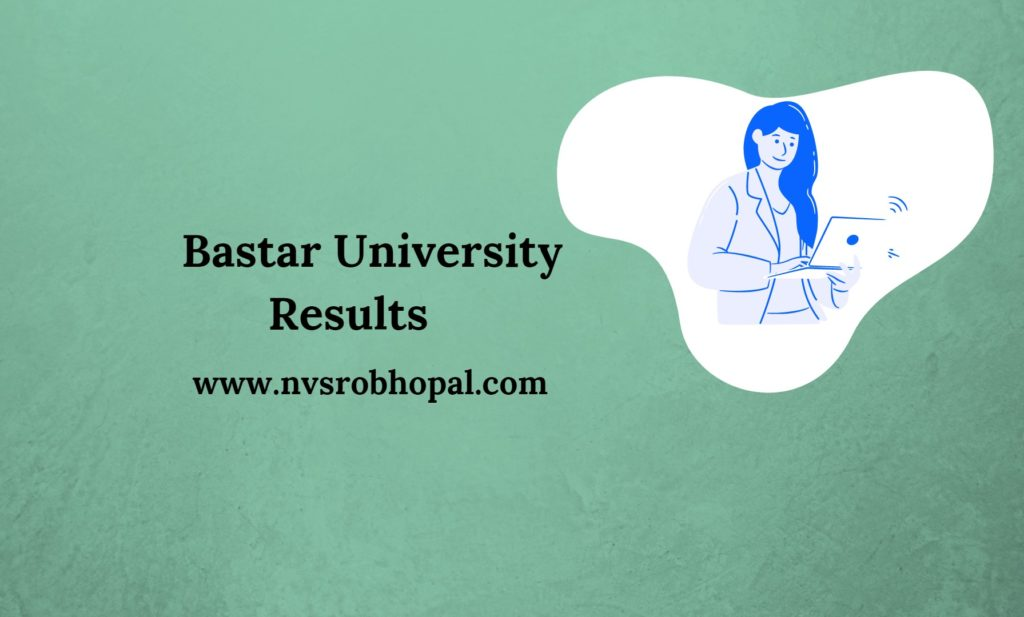 Bastar University Results