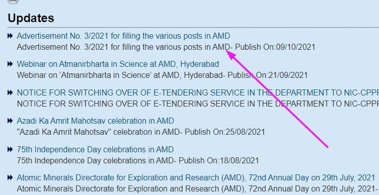AMD recruitment option